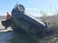 Taşköprü'de Trafik Kazası Açıklaması 2 Yaralı