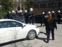 KARŞIT GÖRÜŞLÜ ÖĞRENCİLER - Ankara Üniversitesi'nde kavga: 19 gözaltı