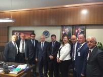 HASAN YAMAN - Ankara Zonguldaklılar Derneği Özbakır'ı Ziyaret Etti