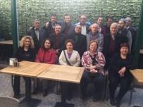 EMEKLİ MEMUR - Emekli Vergi Dairesi Memurları Yemekte Buluştu