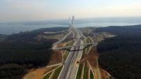 AKILLI ULAŞIM SİSTEMİ - Merakla beklenen Kuzey Marmara Otoyolu havadan böyle görüntülendi