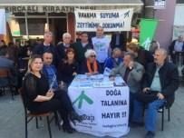 Yenice'de Çevre Örgütleri Termik Santrallerinin Zararını Anlattılar