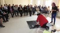 Burhaniye'de SGK Çalışanlarına Temel Yaşam Desteği Semineri