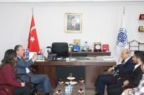 EMEKLİ BÜYÜKELÇİ - Emekli Büyükelçi Numan Hazer, Başkan Işık'ı Ziyaret Etti