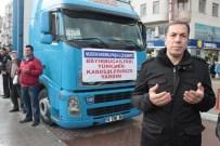 MUSTAFA MASATLı - Mustafakemalpaşa'dan Bayırbucak Türkmenlerine 3 Tır Dolusu Yardım