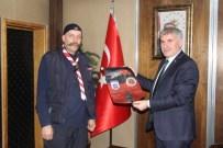 İZCILIK FEDERASYONU - Türkiye İzcilik Federasyonu'ndan Başkan Memiş'e Ziyaret