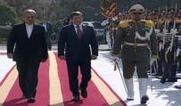 İMAM HUMEYNI - Davutoğlu, İran'da Resmi Törenle Karşılandı