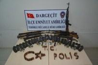 Dargeçit'te Silah Ve Mühimmat Ele Geçirildi