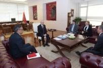TANER URAN - Kılıçdaroğlu, Harp Malulü Gaziler, Şehit, Dul Ve Yetimleri Derneği Genel Başkanı İle Görüştü