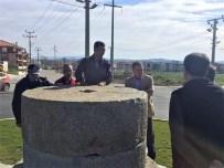 ZEYTIN DALı - Kipa Kavşağında Son Hazırlıklar Yapılıyor
