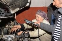 EMINE YıLDıRıM - 24 Yıldır Motor Tamirciliği Yapan 50 Yaşındaki Kadın Herkesi Şaşırtıyor