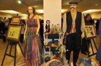 EBRU SANATı - Alanya'da El Sanatları Sergisi Kadınlar Gününde Açıldı