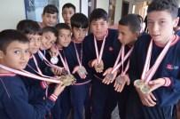 KAMIL CEYLAN - Köyceğiz'li Genç Güreşçilerden 14 Altın Madalya