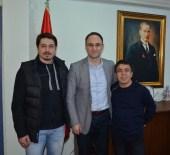 HALİL MUTLU - Olimpiyat Şampiyonu Mutlu Ve Sağır'dan Şahin'e Ziyaret