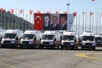 ÇIĞ DÜŞMESİ - 836 Ambulansın Üçüncü Dağıtımı Samsun'da Yapıldı