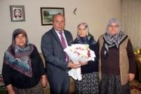 Başkan Arslan, Şehit Annesinin Kadınlar Günü'nü Kutladı