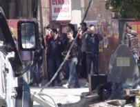 TERÖRİST CENAZESİ - Terörist cenazesinde yoğun güvenlik önlemi