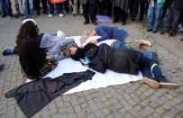 KAZIM ÖZALP - Ankara Garı'ndaki Patlamanın 6. Ayında Olaylı 'Tiyatro' Gösterili Anma