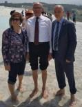 KıZıLDERE - KKTC 2. Cumhurbaşkanı Talat, Başkan Erol'u Ziyaret Etti