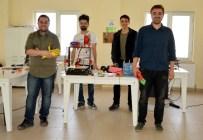 ÜÇ BOYUTLU YAZICI - ERÜ'lü Öğrenciler Evde Fabrika Sistemi Geliştirdi