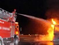 İSTANBUL OTOGARI - Esenler Otogarı'nda büyük yangın