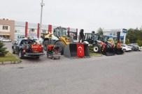 KAR KÜREME ARACI - Kayseri Organize Sanayi Bölgesi, Hizmet Araçları Filosunu Güçlendirmeye Devam Ediyor