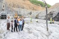 KWH - Kirazlı Köprü Barajına İlk Harç Atıldı