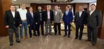 EVRENSELLIK - Başkan Karaosmanoğlu Dersiad Yönetimini Konuk Etti