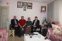 KOZCAĞıZ - Milletvekili Yılmaz Tunç'tan Şehit Ailesine Ziyaret