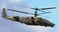 SAVAŞ HELİKOPTERİ - Suriye'de Rus Helikopteri Düştü Açıklaması 2 Ölü