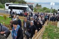 Gömeç Belediyesi İlçe Halkını Çanakkale'ye Taşıdı