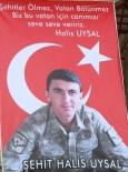 KADIN ASTSUBAY - Şehit Uzman Çavuş Halis Uysal, Anamur'da Gözyaşları Arasında Toprağa Verildi