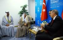 KUVEYT EMIRI - Cumhurbaşkanı Erdoğan, Kuveyt Emiri İle Görüştü