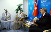 KUVEYT EMIRI - Erdoğan Görüşmelerini Sürdürüyor