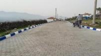 AKMESCIT - Yunusemre'de Kaldırım Ve Trafolar Renkleniyor