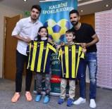 KALP SAĞLIĞI - Fenerbahçeli yıldız futbolculardan anlamlı ziyaret