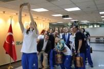 Filenin Kuğuları Şampiyonluk Sevincini Başkan Şirin İle Paylaştı