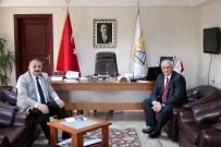 GOODYEAR - Goodyear Yönetiminden Başkan Karakullukçu'ya Ziyaret