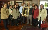 EKOLOJİK PAZAR - Hanımeli Sokak İçin Başkan Ataç'a Teşekkür Ziyareti