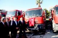 Hatay Büyükşehir Belediyesi 14 İtfaiye Aracı Aldı