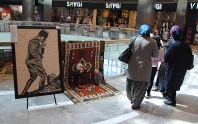 'İlmek İlmek İşlenen Hayaller Taşlar Ve Düşler' İsimli Güzel Sanatlar Sergisi Park Afyon AVM'de Açıldı