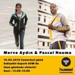 PASCAL NOUMA - Pascal Nouma Ve Merve Aydın Espark'a Geliyor