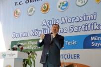 Bakan Eroğlu Açıklaması 'Su Akıyor Biz Yapıyoruz'