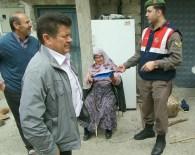 ALARM SİSTEMİ - Jandarma Köy Köy Gezerek Halkı Hırsızlık Konusunda Uyarıyor