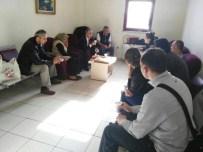 Petek'ten Burdurlu Gaziye Ziyaret