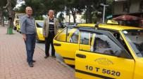 Burhaniye'de Taksiciler Yazı Bekliyor