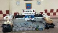 ALKOLLÜ İÇKİ - Jandarma Ve Polisten Kızkalesi'nde Sahte İçki Operasyonu