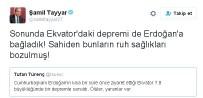 EKVATOR - Milletvekili Tayyar'dan Gazeteci Tufan Türenç'e Alaylı Tepki
