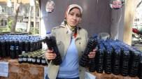 Burhaniye'de Karadut Suyu Tanıtıldı