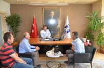 DAĞPıNAR - Dağpınar Muhtarından Başkan Mehmet Kocadon'a Ziyaret